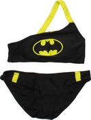 Batman Reversible One Shoulder Low Rise Bikini Swimsuit