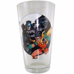 Batman Robin 75th Glass