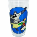 Batman Robin Dark Knight Returns Pint Glass