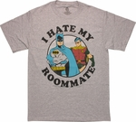 Batman Robin Hate My Roommate T Shirt