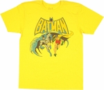 Batman Robin Run T Shirt Sheer