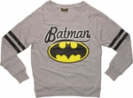Batman Script Logo Lightweight Junior Sweatshirt