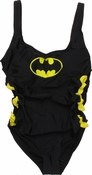 Batman Side Bows One Piece Swimsuit