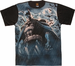 Batman Stormy Knight Sublimated T Shirt Sheer