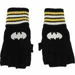 Batman Striped Wrist Gloves