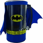 Batman Suit Cape Glass Mug
