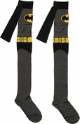Batman Suit Caped Over the Knee Socks