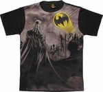 Batman Viewing Signal Sublimated T Shirt Sheer