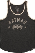 Batman Vintage Name Logo Tank Top