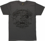 Batman vs Joker Rematch T Shirt Sheer