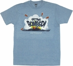 Battleship Bombed T Shirt Sheer