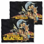 Battlestar Galactica Vintage Poster FB Pillow Case
