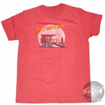 Baywatch Guard Stand T-Shirt Sheer