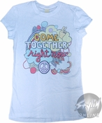 Beatles Come Together Baby Tee