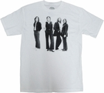 Beatles Group T Shirt Sheer