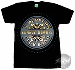 Beatles Lonely Hearts T-Shirt Sheer