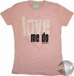 Beatles Love Me Do Music Baby Tee