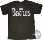 Beatles Name Stencil T-Shirt