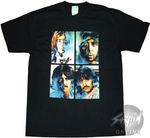 Beatles Quadrant Over Exposed T-Shirt