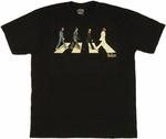 Beatles Road Minimal T Shirt Sheer