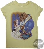 Beauty and the Beast Girls T-Shirt