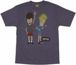 Beavis and Butthead Air Guitar T-Shirt