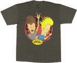 Beavis and Butthead Breakin Law T Shirt