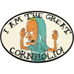 Beavis and Butthead Cornholio Belt Buckle
