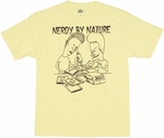 Beavis and Butthead Nerdy Nature T Shirt
