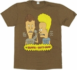 Beavis and Butthead Prank Call T Shirt Sheer