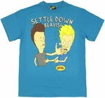 Beavis and Butthead Settle Down T Shirt