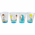 Beavis and Butthead Shot Glass Set