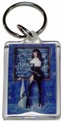 Bettie Page Keychain