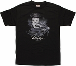 Betty Boop On Bike T-Shirt