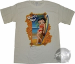 Betty Boop Surfs Up T-Shirt