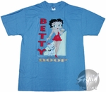 Betty Boop White Triangle T-Shirt