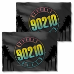 Beverly Hills 90210 Palms Logo FB Pillow Case