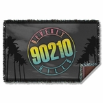 Beverly Hills 90210 Palms Logo Throw Blanket