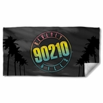 Beverly Hills 90210 Palms Logo Towel