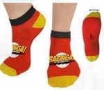 Big Bang Theory Bazinga Ankle Socks