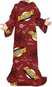 Big Bang Theory Bazinga Collage Snuggler