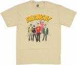 Big Bang Theory Bazinga Group T Shirt