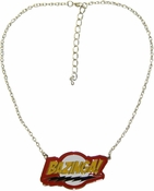 Big Bang Theory Bazinga Necklace