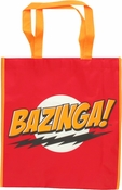 Big Bang Theory Bazinga Red Tote Bag