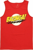 Big Bang Theory Bazinga Tank Top