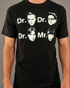 Big Bang Theory Faces T Shirt