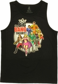 Big Bang Theory Hero Logo Tank Top