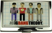 Big Bang Theory Pixel Cast Card Case