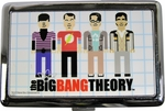 Big Bang Theory Pixel Cast Large Card Case