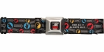 Big Bang Theory Rock Paper Combos Seatbelt Belt
